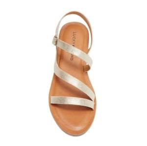 NWAB Lucky Brand Alexcia Sandal Sz 6M